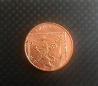 MAGIC ADAPTED 2p SHELL COIN Suitable for Raven 2 Pence Shell Coin non expanded
