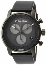 CALVIN KLEIN Watch City 2 Needle ETA Quartz Chronograph K2G177C3