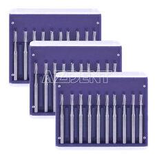 3 Pks Dental Surgical Tungsten Steel Drills Burs Fg 558 For High Speed Handpiece