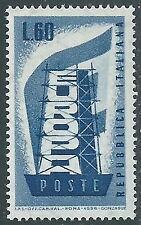 1956 ITALIA EUROPA 60 LIRE MNH ** - BB15