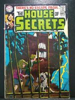 HOUSE OF SECRETS # 81 DC Comics Aug./Sept.1969 GD Mystery Format Begins 1st Abel