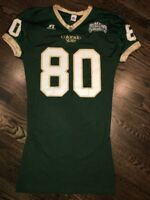 Game Worn Used Colorado State Rams Football Jersey #80 Russell L