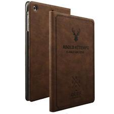 Bolsa de Diseño Cubierta Trasera Elegante Marrón Oscuro Para Apple iPad Pro 10.5
