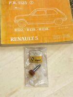 RENAULT 5 ALPINE R1223 ORIGINE  PIGNON DE TACHYMETRE 13 DENTS NEUF 7700624173