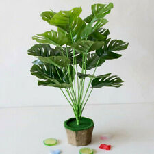 Realistic Look Green Decorative Artificial Indoor Outdoor Plant Tree Without Pot