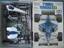 TYRRELL YAMAHA 023 TAMIYA MODEL GRAND PRIX RACE CAR - 1/20 SCALE