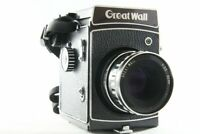 Exc++ Great Wall 6x6 6x4.5 Film Camera DF-5 Body w/ 90mm F3.5 Lens from JP #2302