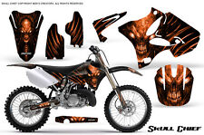 YAMAHA YZ125 YZ250 2 STROKE 2002-2014 GRAPHICS KIT CREATORX DECALS SCO