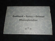 PORTFOLIO OF TWELVE PHOTO POSTCARDS OF SWITZERLAND FROM THE 1930'S