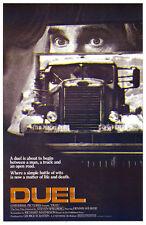 Duel Dennis Weaver 1955 Peterbilt 281 truck Steven Spielberg 11x17 Movie Poster