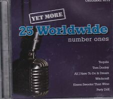 YET MORE 25 WORLDWIDE NUMBER ONES - VARIOUS - CD - NEW
