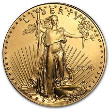 2000 1 oz Gold American Eagle BU - SKU #7442