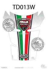 Ducati 848 / 1098 / 1198 Tank Pad Blanco (td013w)