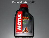 Motul Off Road 2T Factoría Line Aceite de Motor Botella 1 Litro Motocicleta