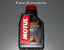 2X Motul Off Road 2T Factoría Line Motocicleta Aceite de Motor Botella 1 Litro