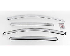 Chrome Rain Window Visor 4pc 1Set For 10 11 12 13 14 Hyundai Tucson ix35