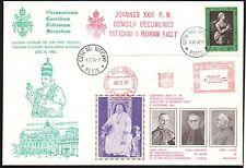 Vaticano 1962 FDC Chiusura I Sessione Concilio Vaticano Secondo in Verde