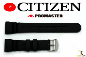 Citizen Promaster JV0030-01E Original 26mm Black Rubber Watch Band JV0020-12F