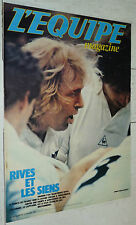 EQUIPE MAGAZINE N°59 1981 REP AS SAINT-ETIENNE RIJVERS POULIDOR RUGBY XV RIVES