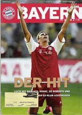 Bayern Magazin 11/56 , Bayern München - Bayer Leverkusen , 05.02.2005