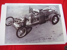 GEORGE BARRIS  DRAGULA CAR FROM MUNSTERS TV SHOW  11 X 17  PHOTO   PICTURE
