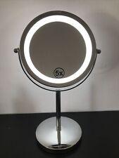 5X ingrandimento Make up Specchio bagno a doppia faccia Specchio da Rasatura Cosmetici