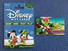 2 - Disney gift card & Mickey/ Minnie party collectible only no $ value