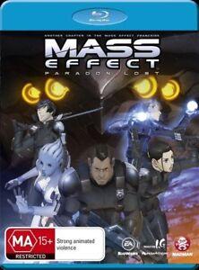 Mass Effect - Paragon Lost Blu Ray New Sealed Region A,B