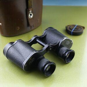 scarce 6x30 SILVAMAR Dienstglas Carl Zeiss Jena 1943 WW2 binoculars Silvarem ☆☆☆