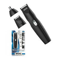 WAHL GROOMSMAN Rechargeable All In One Beard - Ear/Nose Trimmer & Foil Shaver