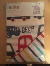 Beep Beep Single duvet cover and pillowcase set bnwt