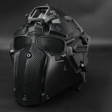 Full Face Helmet Mask Airsoft Game Paintball CF CS Game Outdoor Tactical Goggle