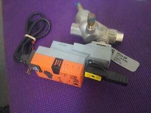 "Belimo Actuator LRU24-MF + Belimo PICCV-15P 1/2"" 0.36 4140Kpa DN15 Valve NEW"