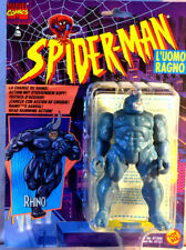 RHINO - action figure Spiderman Uomo Ragno 1996 Toy Biz