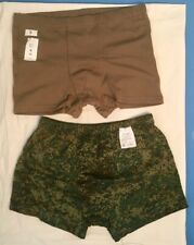 Army man military underwear set olive and green boxers trunks shorts (2 pcs.)