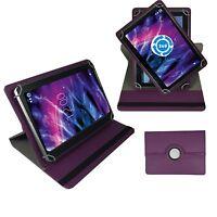 Hülle für Odys NoteTab PRO LTE Schutz Tasche Tablet 360° DUNKEL LILA