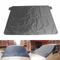 Magnetic Car Windscreen Cover Ice Frost Shield Snow Dust Protector Sun Shade Hot