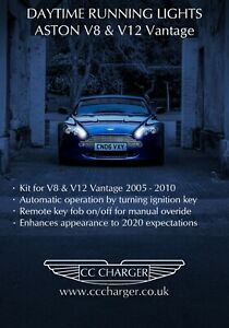 Aston Martin Vantage 2005-10MY LED Daytime Running Lights Controller (RHD ONLY)