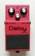 BOSS DM-2 Delay Vintage Guitar Effects Pedal 1982 Early Model MN3005/3101 #10