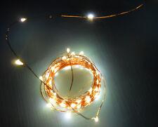 100er Mini LED-Lichterkette mit Zeitschaltuhr Innen Baumbeleuchtung warm 14 m