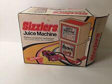 1969 Mattel Hot Wheels Sizzlers Juice Machine with Original Box