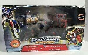 Transformers Energon Robots in Disguise Prowl & Starscream Hasbro 2004 New