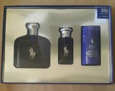 POLO BLUE Ralph Lauren Gift Set:Eau De Toilette Spray 4.2+1.0 OZ+ deodorant,NEW
