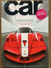 Car Magazine - January 2006 - Ferrari FXX  M3  Stratos  Meriva VXR