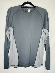 Smartwool Lightweight 195 Crew Neck Baselayer Merino Wool Mens Size Large *READ*