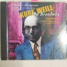 Kurt Weill on Broadway [1996 CD] Thomas Hampson, Elizabeth Futral, *Near Mint*