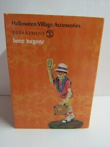 Dept 56 Halloween Village Accessories Bone Voyage 6005555