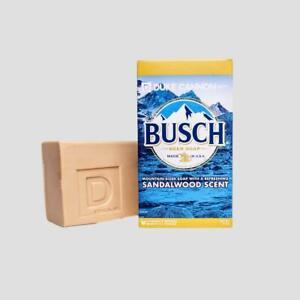 Duke Cannon Busch Beer Soap for Men Sandalwood 10oz USA Big Brick Refreshing