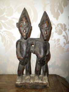 Anciennes Statuettes en bois   Afrique
