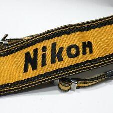 Genuine Nikon wide Yellow strap for Nikon F F2 F3 F Apollo F3HP F2AS F2S camera
